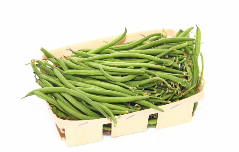 Green beans fresh from the market
