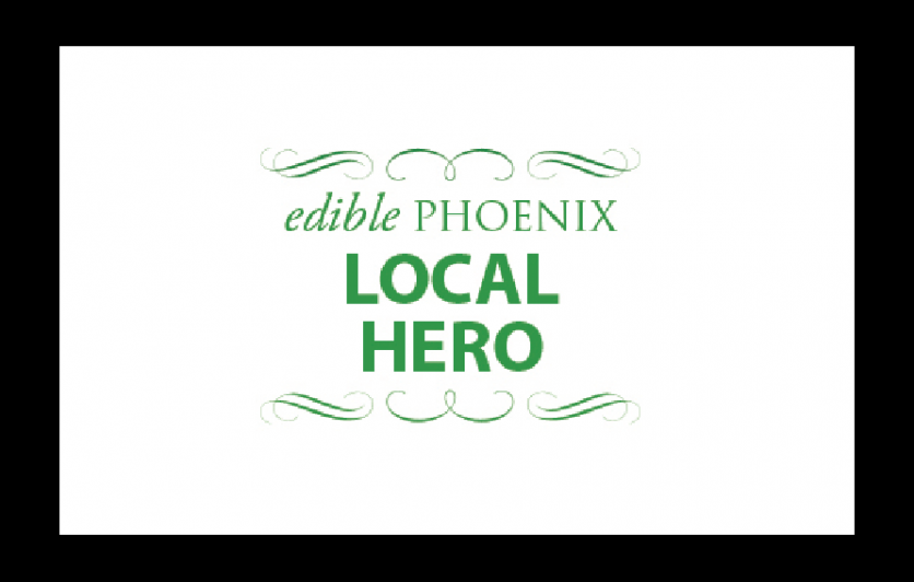 Edible Phoenix Local Hero Award Winner logo