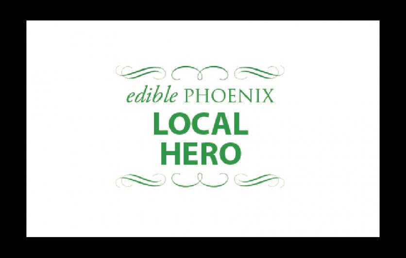 Edible Phoenix Local Hero Award Winner logo