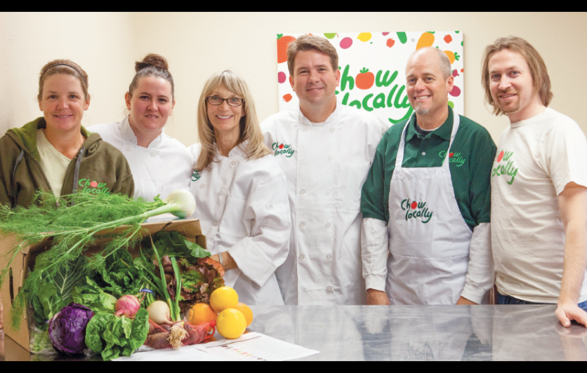Chow Locally, Statewide food hub and CSA