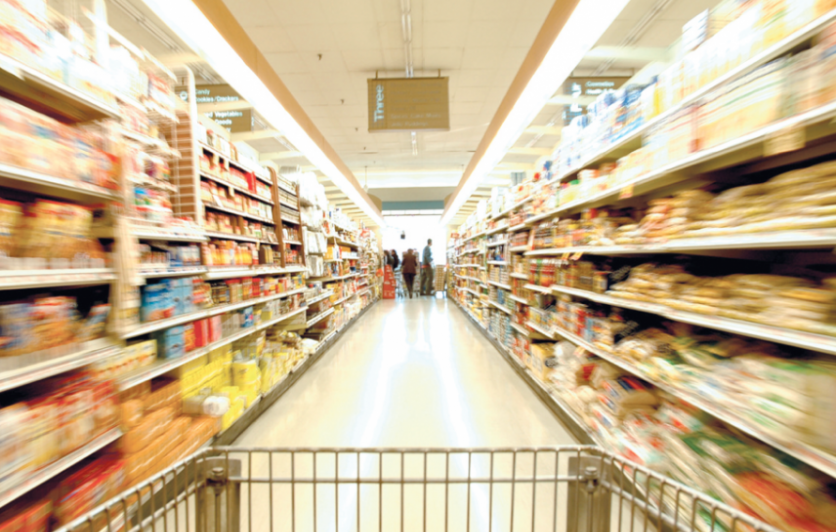 Market aisles and labeling
