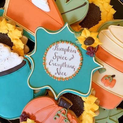 Intro Cookie Decorating Pumpkin Spice Edible Phoenix
