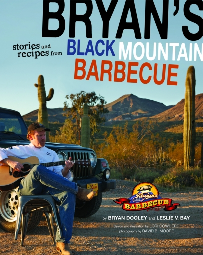 Bryan's Black Mountain Barbecue Cookbook cover