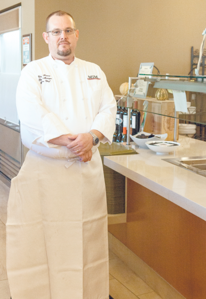 Chef Edward Farrow at the MIM Cafe Allegro