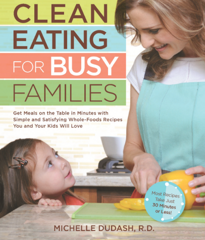 Clean Eating for Busy Families cover