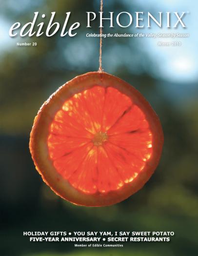 Edible Phoenix Winter 2010 Cover
