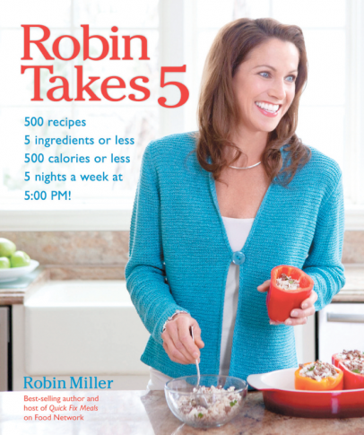 Robin Takes 5 cookbook cover