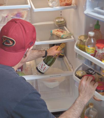 Restaurant critic Howard Seftel peeks into his refrigerator