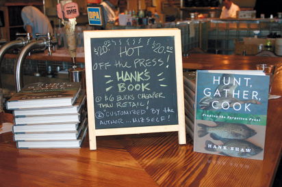 Hunt, Gather, Cook, Hank Shaw's books at bookstore