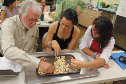 Students learn about seeds