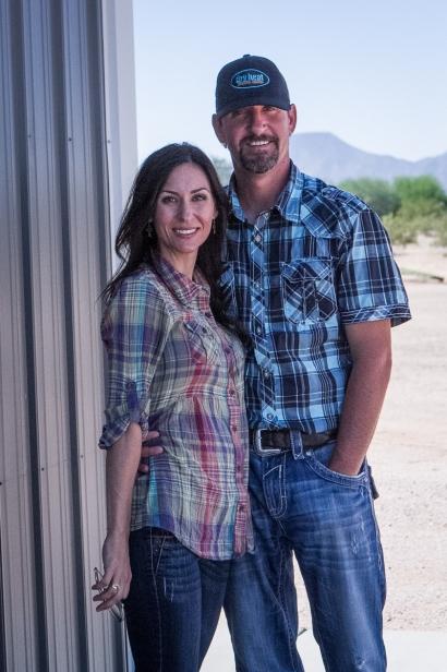 Rick Anglin and his wife, Kristin