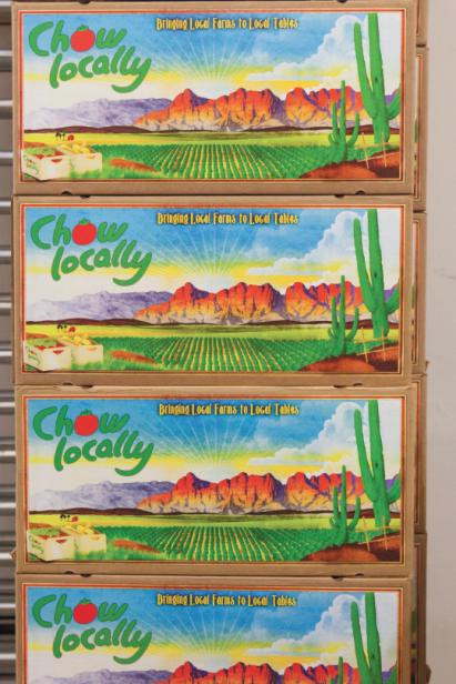 Chow Locally, Arizona CSA, logo