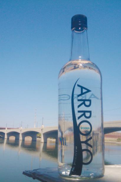 arroyo vodka bottle