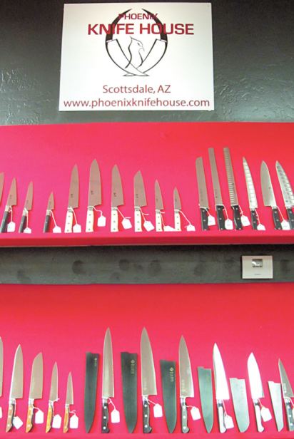 Phoenix Knife House knives