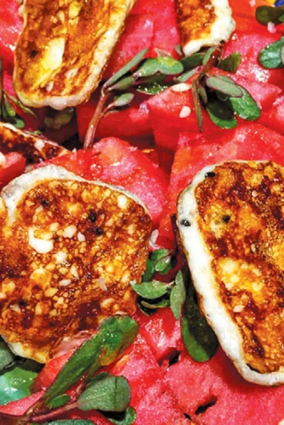 John Samora tomato basil photo