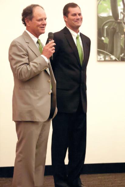 Chris Miller, President Rijk Zwaan and Arnott Duncan, Duncan Family Farms.