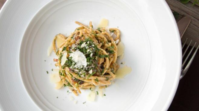 Arizona on a plate: spaghetti carbonara