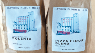 Bags of Hayden Flour