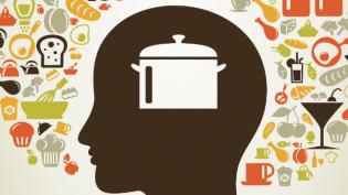 Mind of a chef illustration
