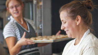 Pastry chef, Tracy Dempsey