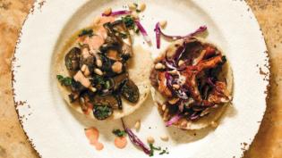 Mushroom Tacos (Tacos de Hongos)