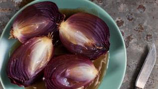 Orange Coriander Onions