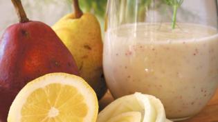 Pear, Fennel & Lemon Smoothie